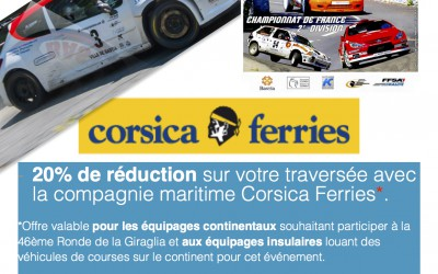 Giraglia 2016 – Partenariat Corsica Ferries