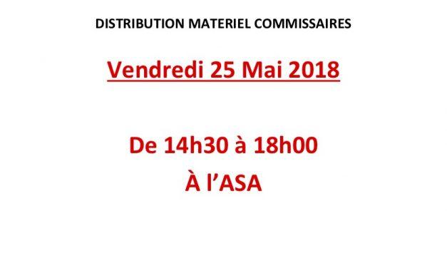 Information commissaires Giraglia 2018