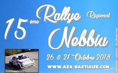 Important – Modification de parcours Rallye du Nebbiu 2018